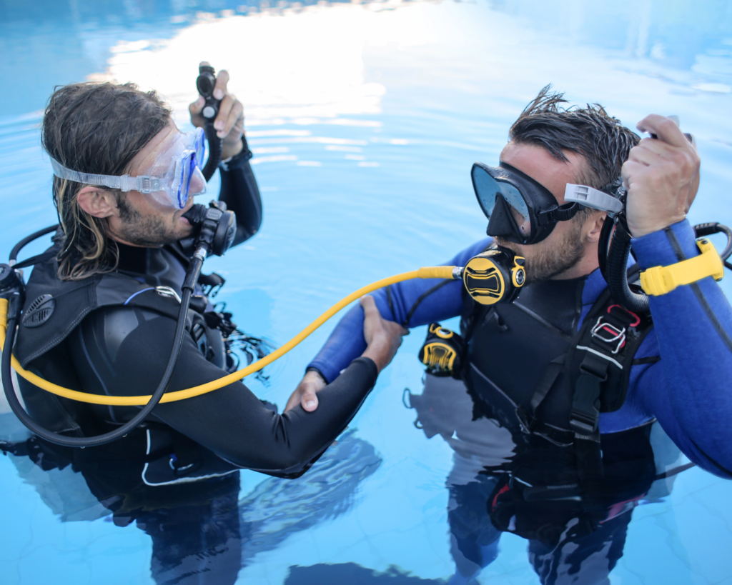 Open Water Scuba Diving Instructor - St George Underwater - Sydney Australia